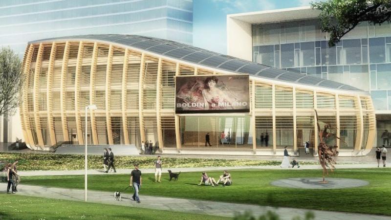 pavilion simulazione 3D