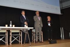 Francesco Bizzarri, Direttore generale del Festival e Cinzia Masòtina, coordinatrice del progetto Visioni Incontra con Roberto Cicutto, Presidente e AD Istituto Luce-Cinecittà