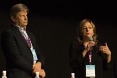 Francesco Bizzarri e Cinzia Masòtina