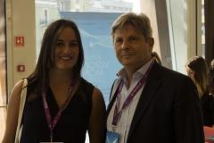 Francesca Johnson, Director, Development & Production per National Geographic Channel e Francesco Bizzarri