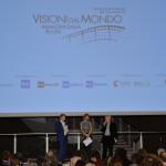 Francesco Bizzarri, Martina Colombari e Fabrizio Grosoli