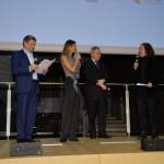 Francesco Bizzarri, Martina Colombari, Maurizio Beretta e Marco Bertozzi, rappresentante della Giuria Ufficiale