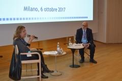 """Alberto Pasquale, consulente MIBACT, Cinzia Masòtina, Consulente e Coordinatrice """"Visioni Incontra""""."""