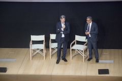 Francesco Bizzarri e Giuseppe Giannotti vicedirettore di Rai Cultura