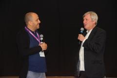 Fabrizio Grosoli, Direttore artistico e Peter Marcias regista di UNO SGUARDO ALLA TERRA
