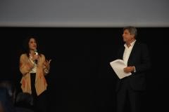 Francesco Bizzarri e Fatima Bhutto, Madrina della terza edizione del Festival