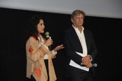 Francesco Bizzarri e Fatima Bhutto