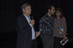 Francesco Bizzarri e Ziad Kalthoum, regista di TASTE OF CEMENT
