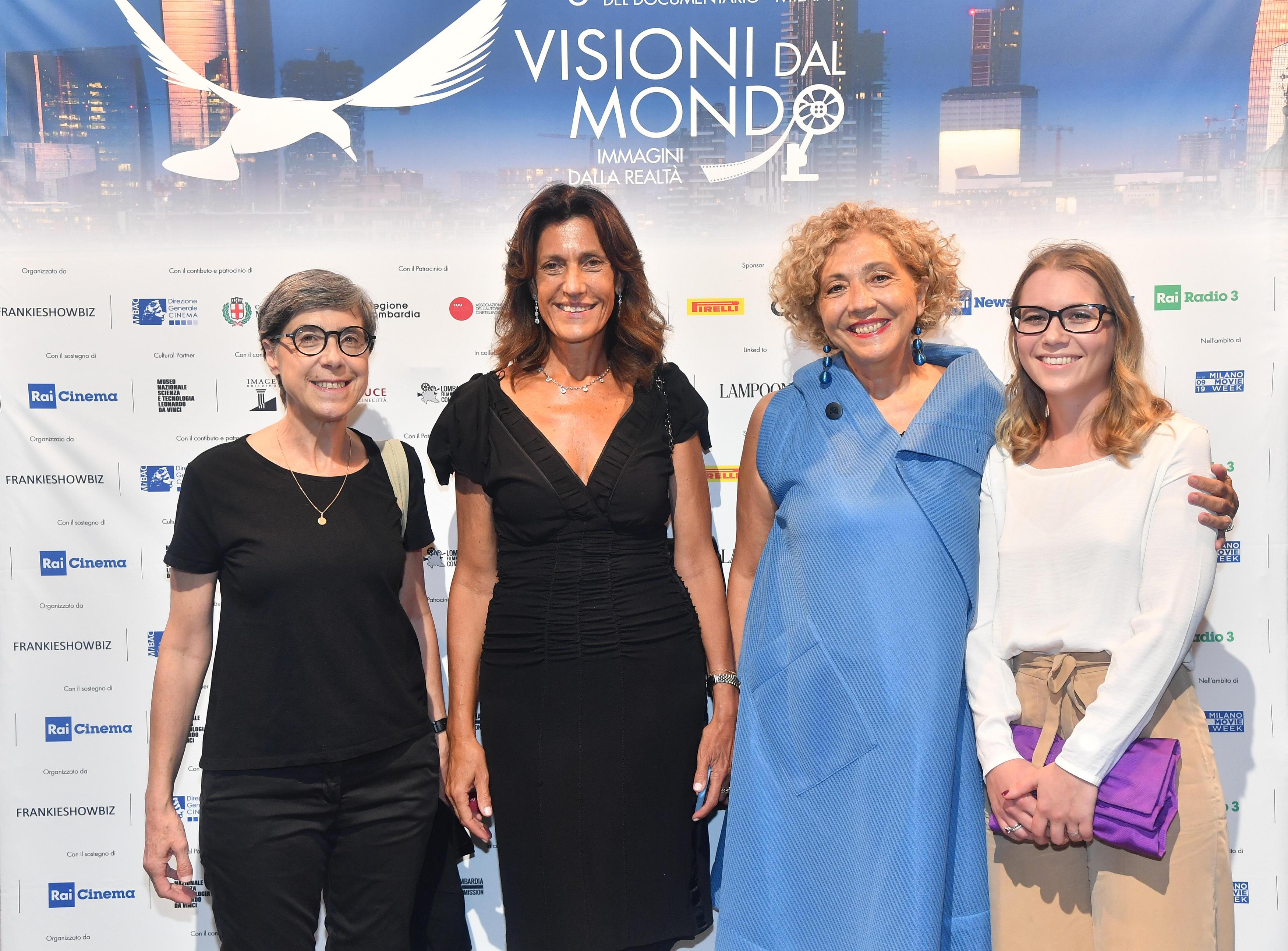 Paola Pierri, Giuliana Paoletti, Presidente Image Building e Claudia Fellus