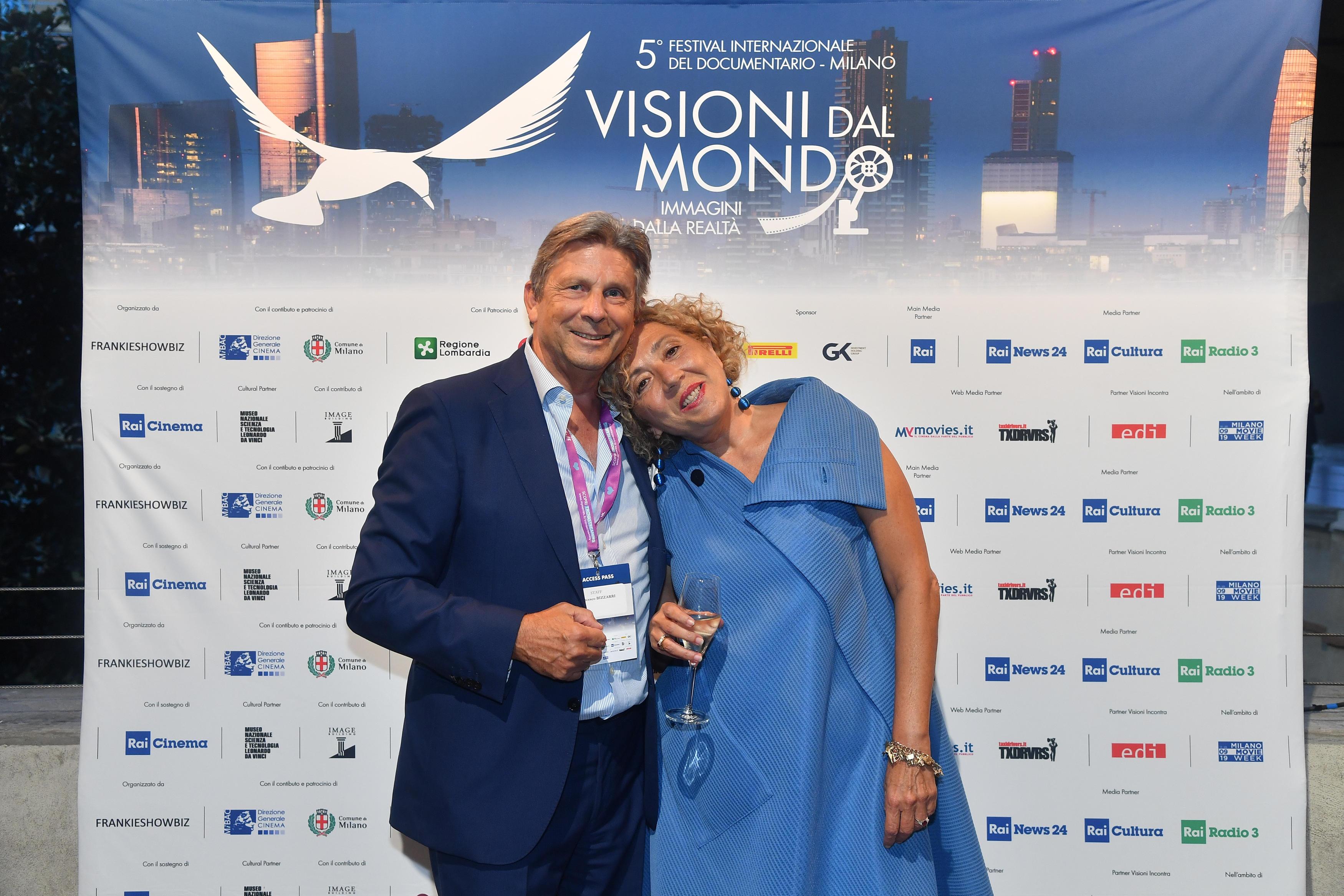 Francesco Bizzarri, Fondatore e Direttore del 5° Festival Internazionale del Documentario Visioni dal Mondo, Immagini dalla Realtà con Claudia Fellus