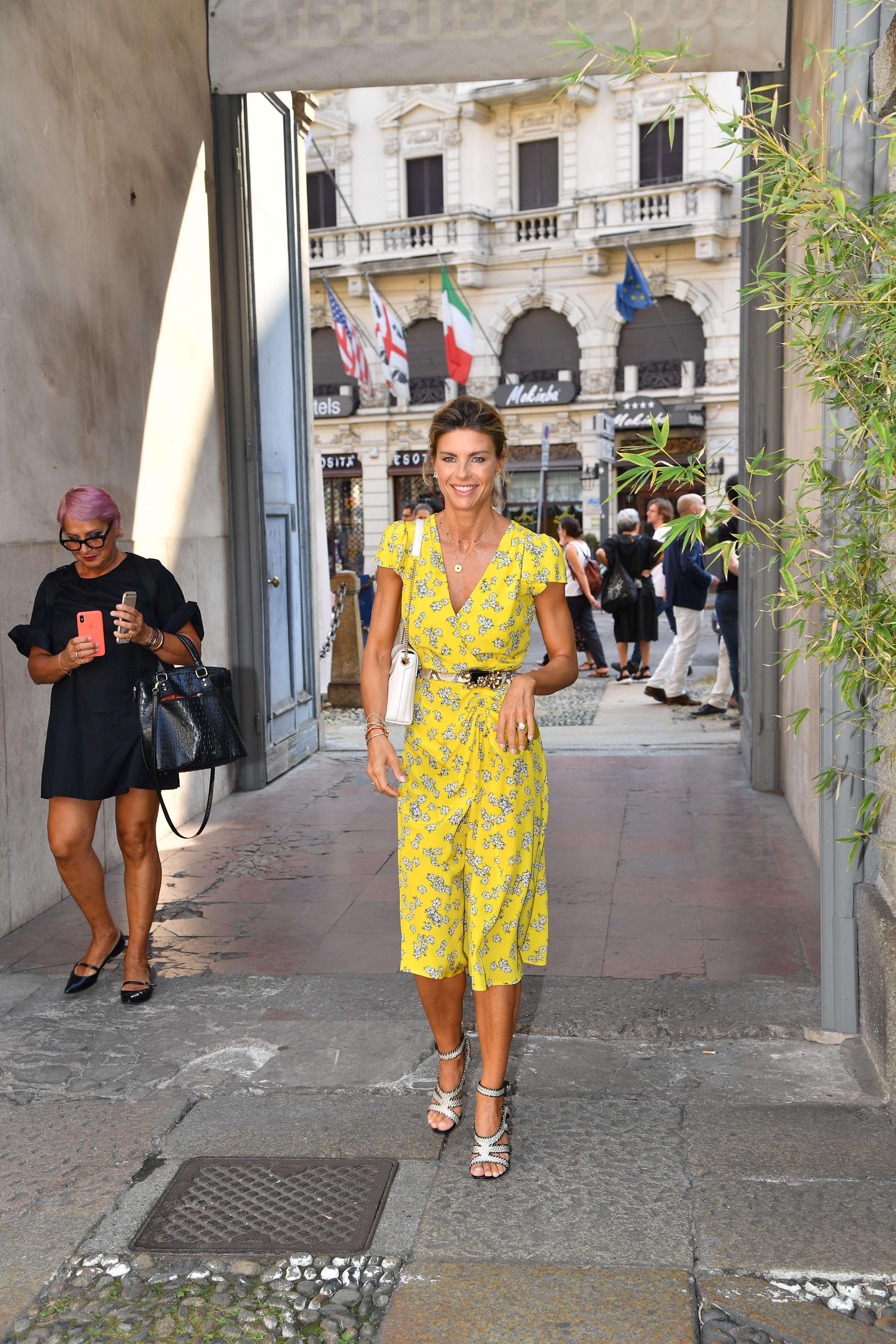 "Martina Colombari, protagonista del docufilm ""Haiti"""