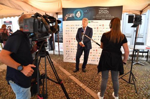Francesco Bizzarri, Founder and Director of the International Documentary Festival Visioni dal Mondo interviewed by Rai