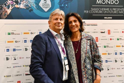 Francesco Bizzarri and Giuliana Paoletti