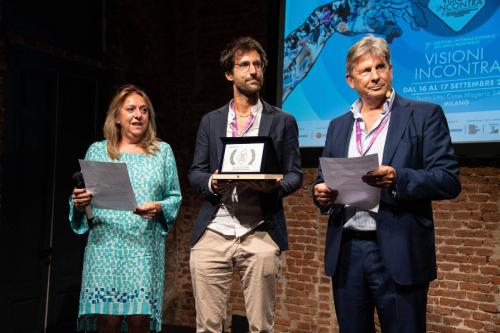 """Michele Fornasero, producer of """"In viaggio"""" winner of the Visioni Incontra Best Documentary Project 2021 Award with Cinzia Masòtina and Francesco Bizzarri"""
