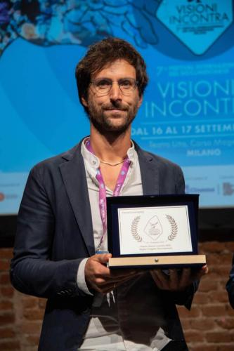 """Michele Fornasero, producer of """"In viaggio"""" winner of the Visioni Incontra Best Documentary Project 2021"""