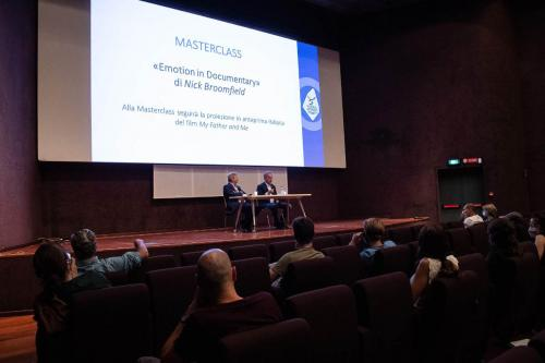 """Masterclass """"Emotion in documentary"""" by Nick Broomfield"""