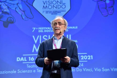 Maurizio Nichetti, Artistic Director of the 7th International Documentary Festival Visioni dal Mondo