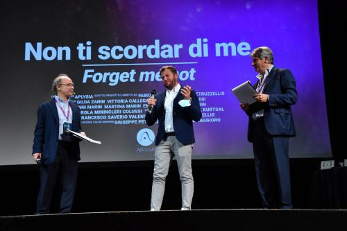 """Fabio Marin, director of """"Non ti scordar di me"""" winner of the Special Mention Italian Short Film of the Young Jury"""