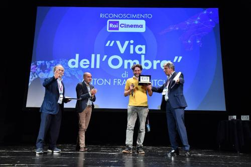 """Anton Frankovitch, director of """"Via dell'Ombra"""" winner of the Rai Cinema Recognition dedicated to Franco Scaglia"""