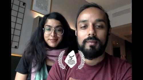 """Rintu Thomas e Sushmit Ghosh, directors of """"Writing with fire"""" winner of the Visioni Dal Mondo 2021 Best International Feature Documentary Award"""